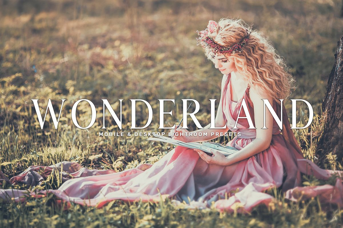Wonderland Mobile & Desktop Lightroom Presets Collection example image 1