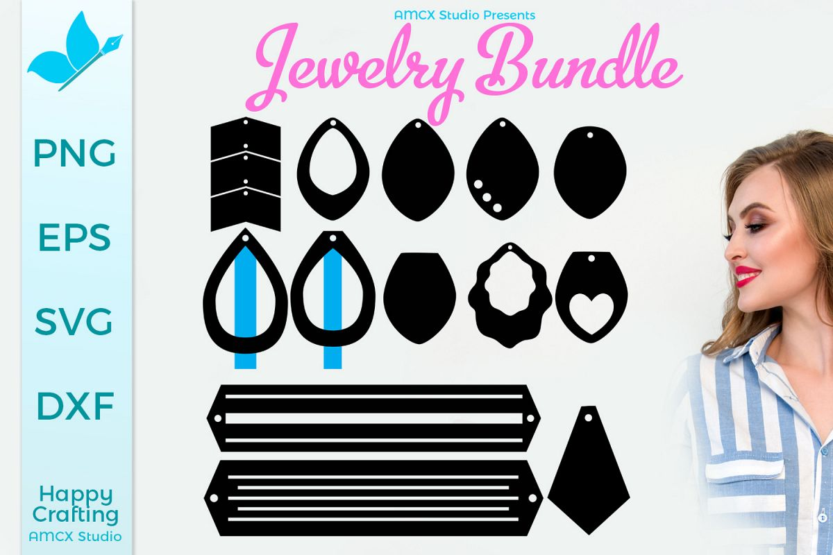 A Jewelry Bundle SVG example image 1