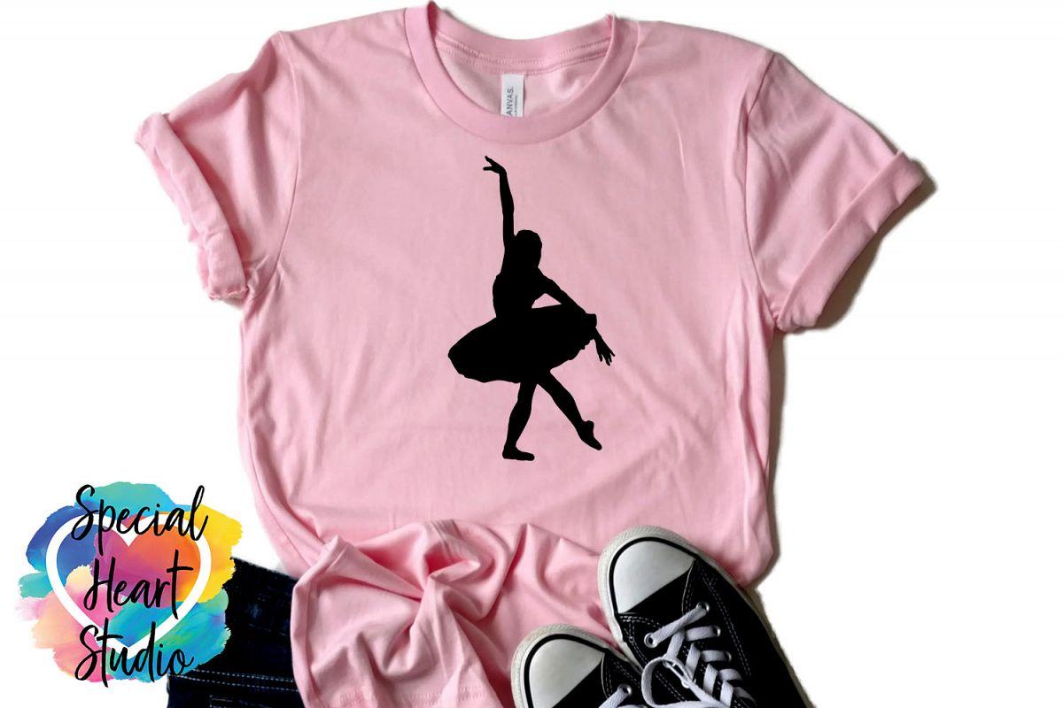 Ballerina SVG Clip Art example image 1