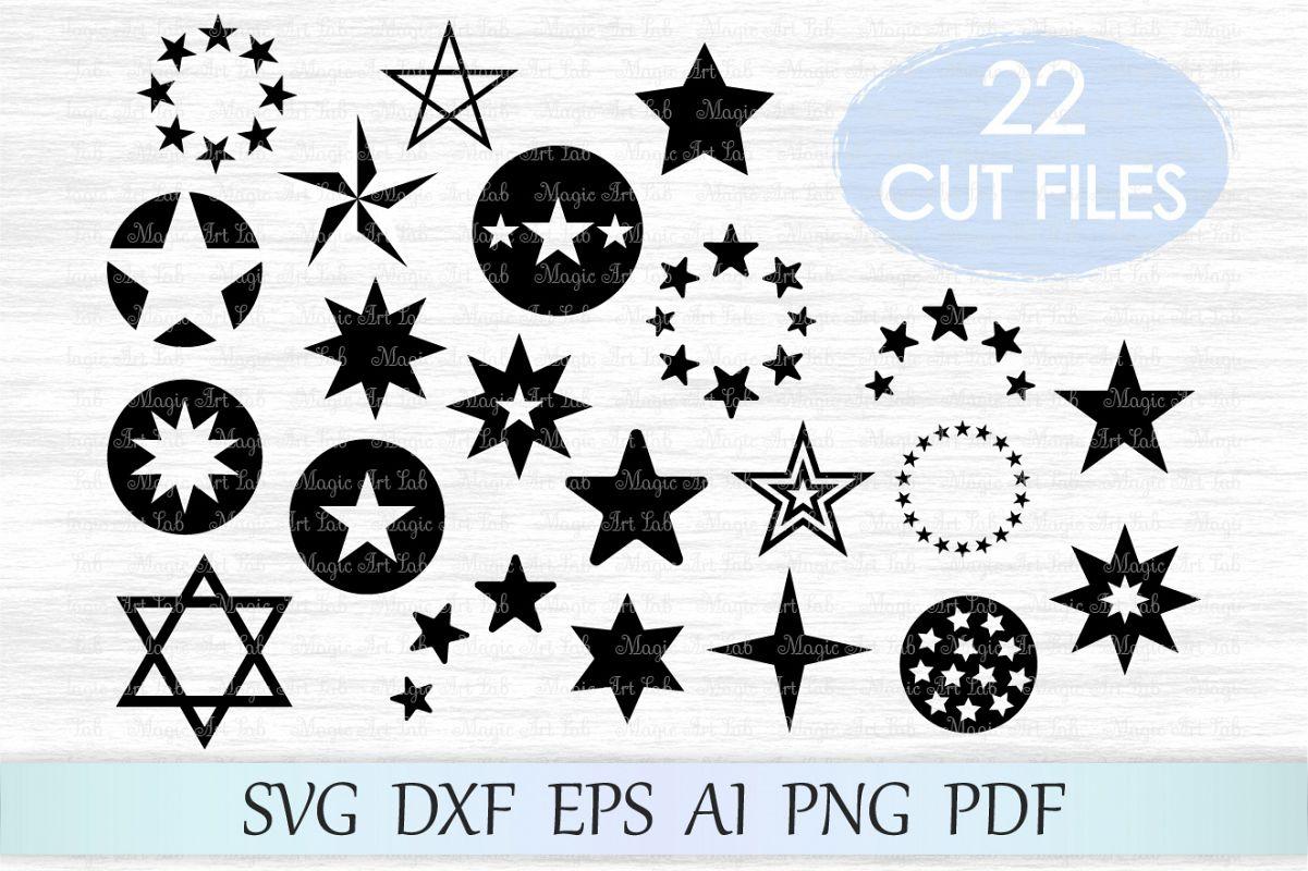 Star svg, stars png, star svg file, star clipart, stars silhouette, pentagram svg, star cut file, star clip art, star design, stars cut svg example image 1