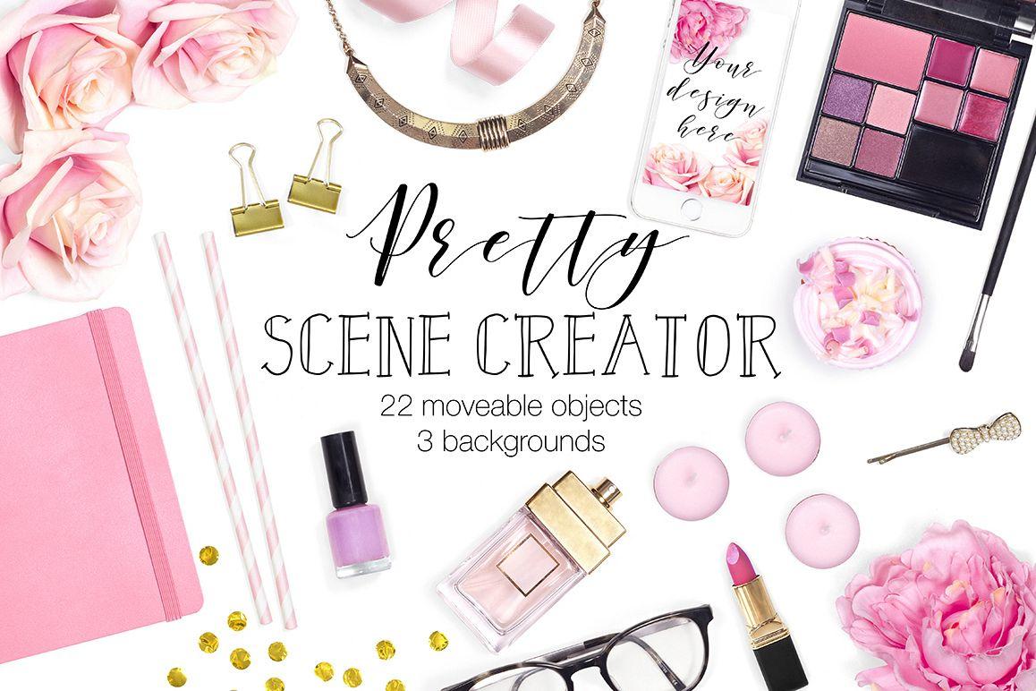 Pretty Scene Creator Top View example image 1