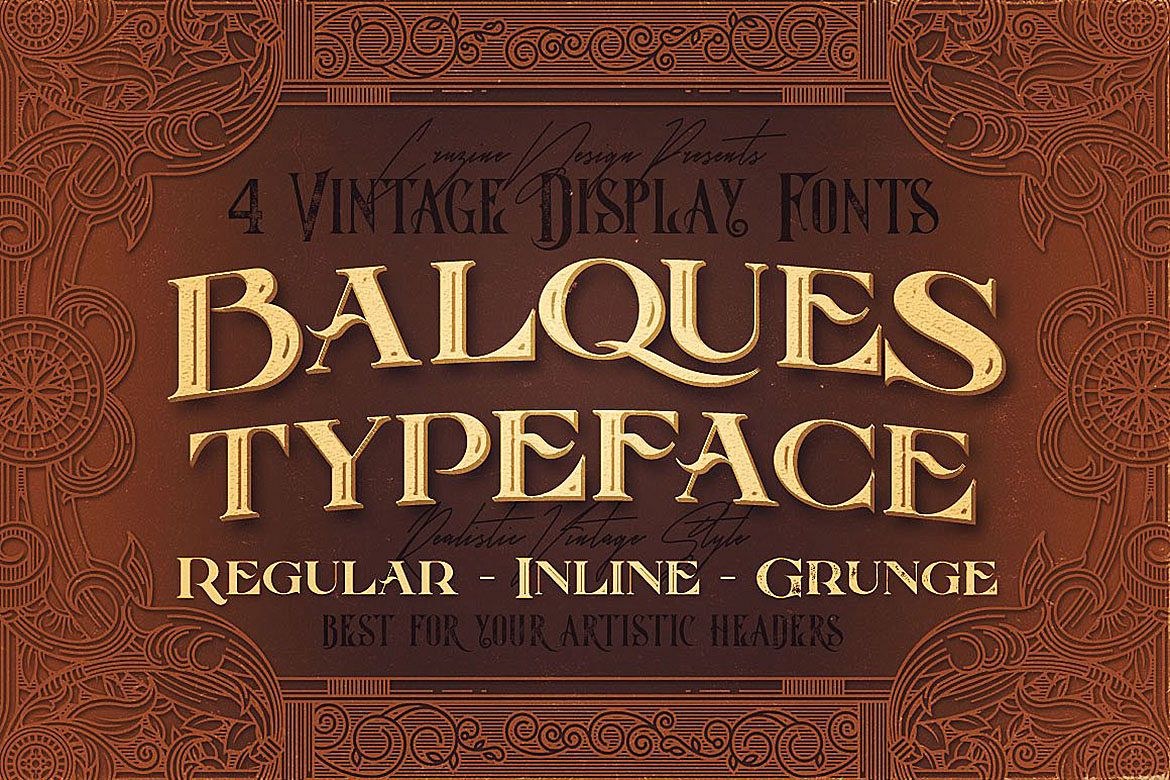 Balques Typeface example image 1