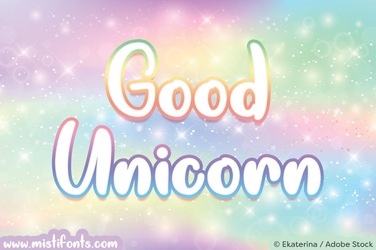 Good Unicorn example image 1