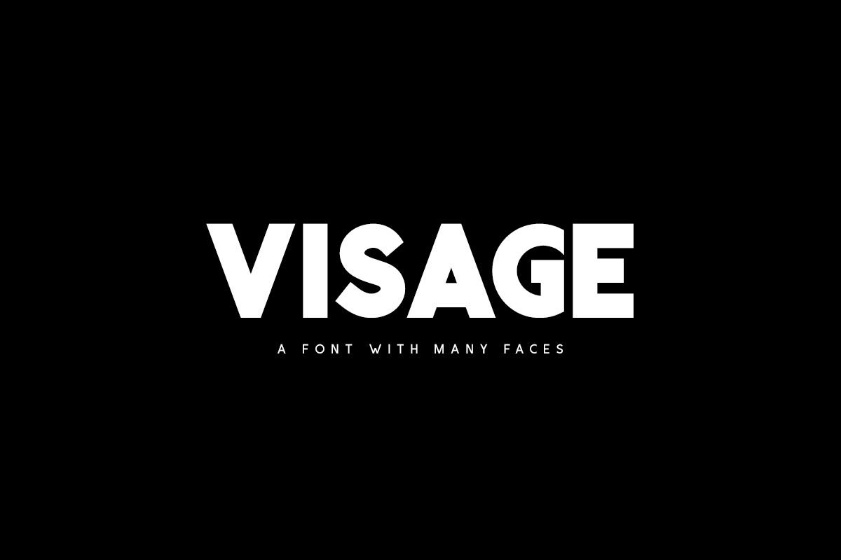 Visage Typeface example image 1