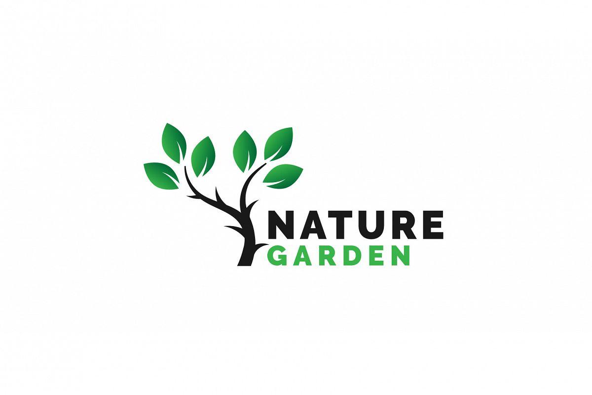 Nature Garden Logo Vol.05 example image 1
