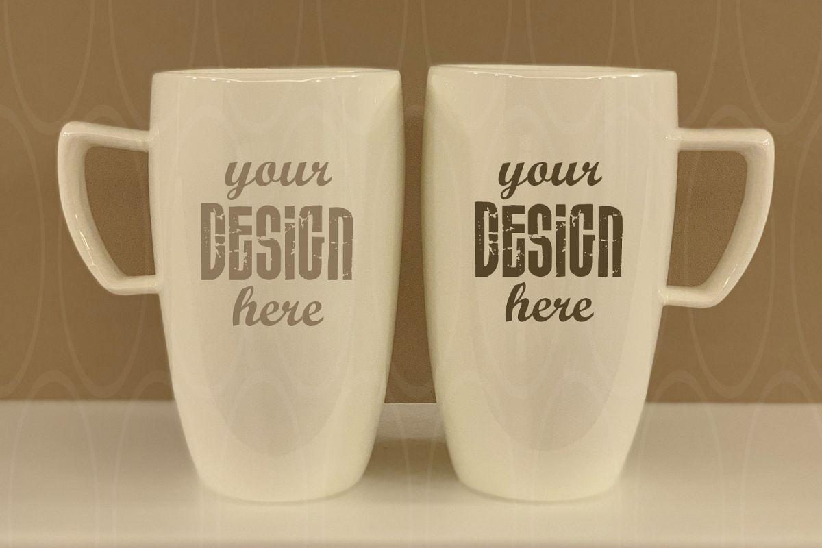 Mugs mock up Styled Stock Photography Blank example image 1