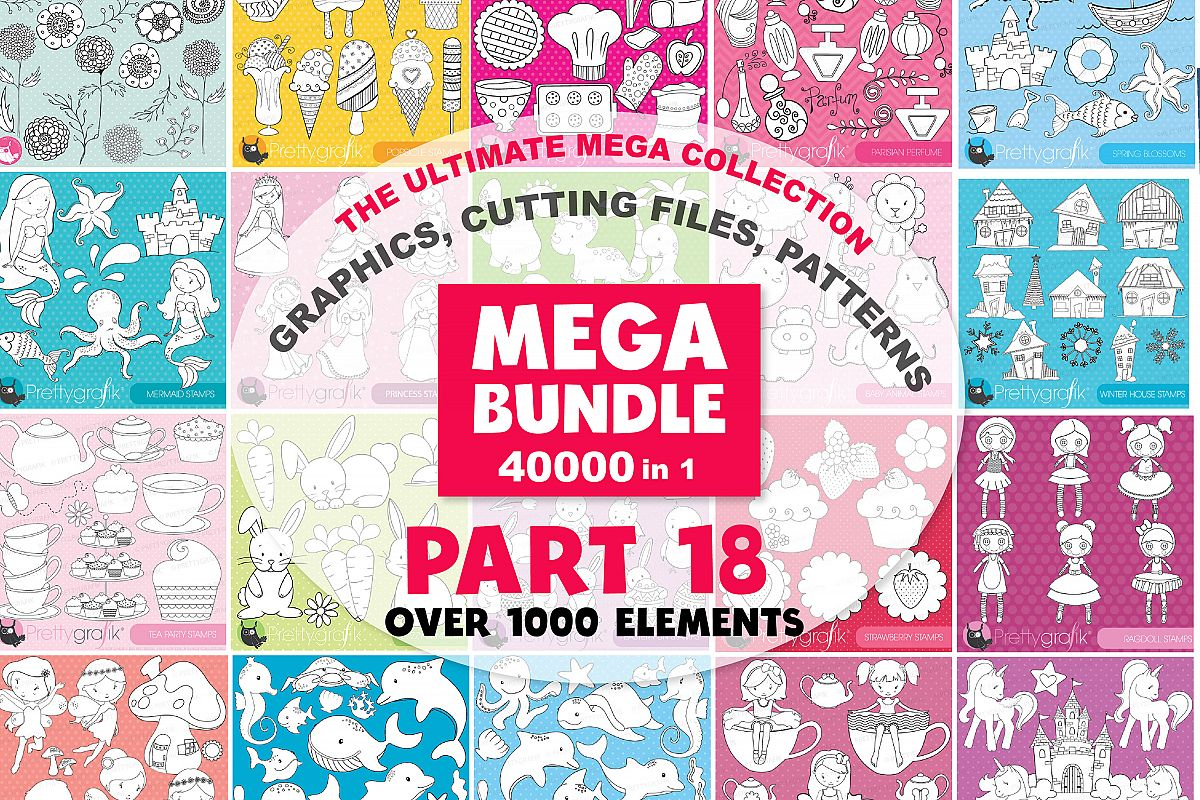 MEGA BUNDLE PART18 - 40000 in 1 Full Collection example image 1