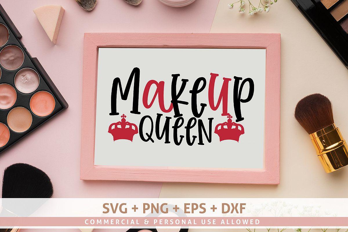 Makeup Queen SVG Design example image 1