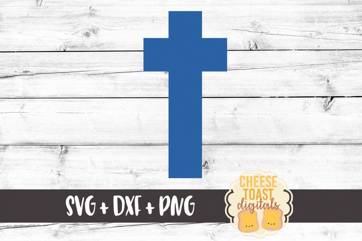 Cross SVG PNG DXF Cutting Files - Christian SVG Files example image 1
