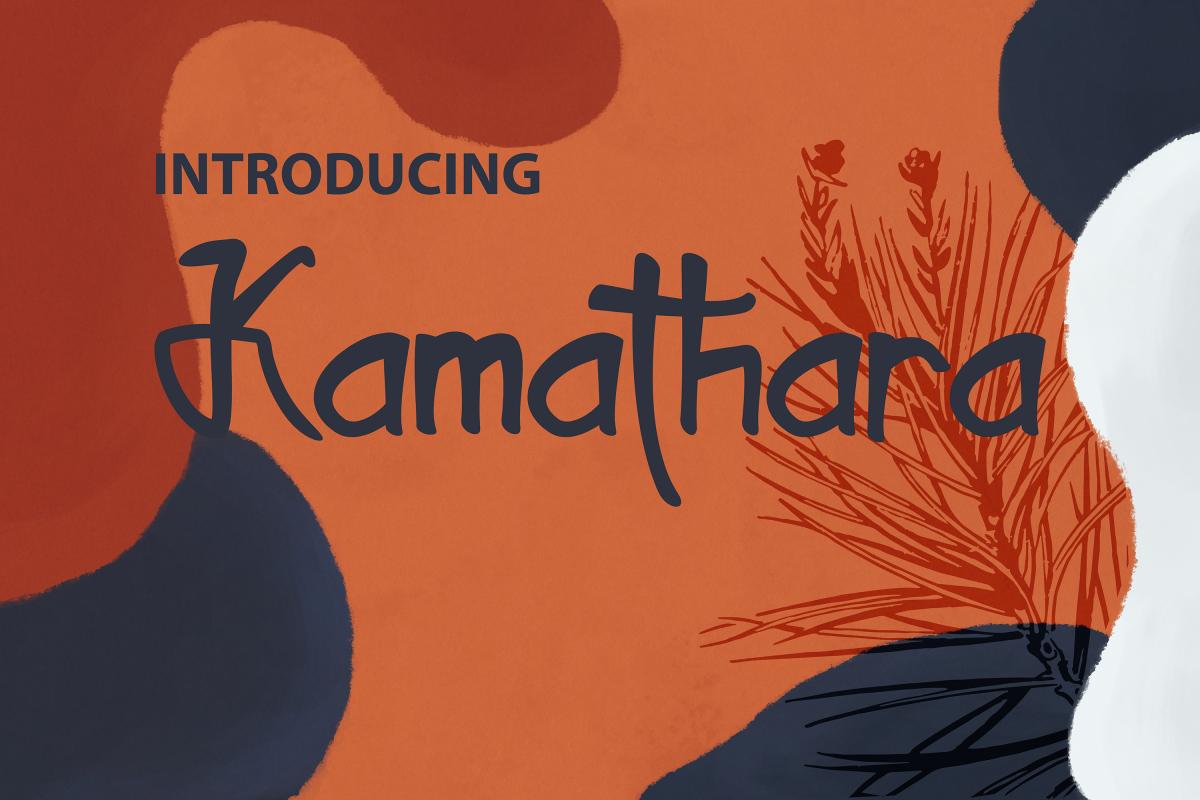 Kamathara UniqueFont example image 1