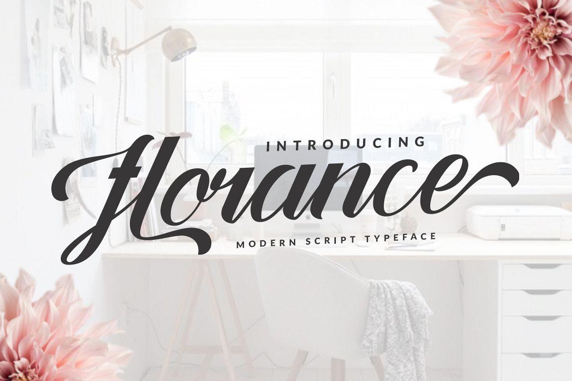 Florance Script example image 1