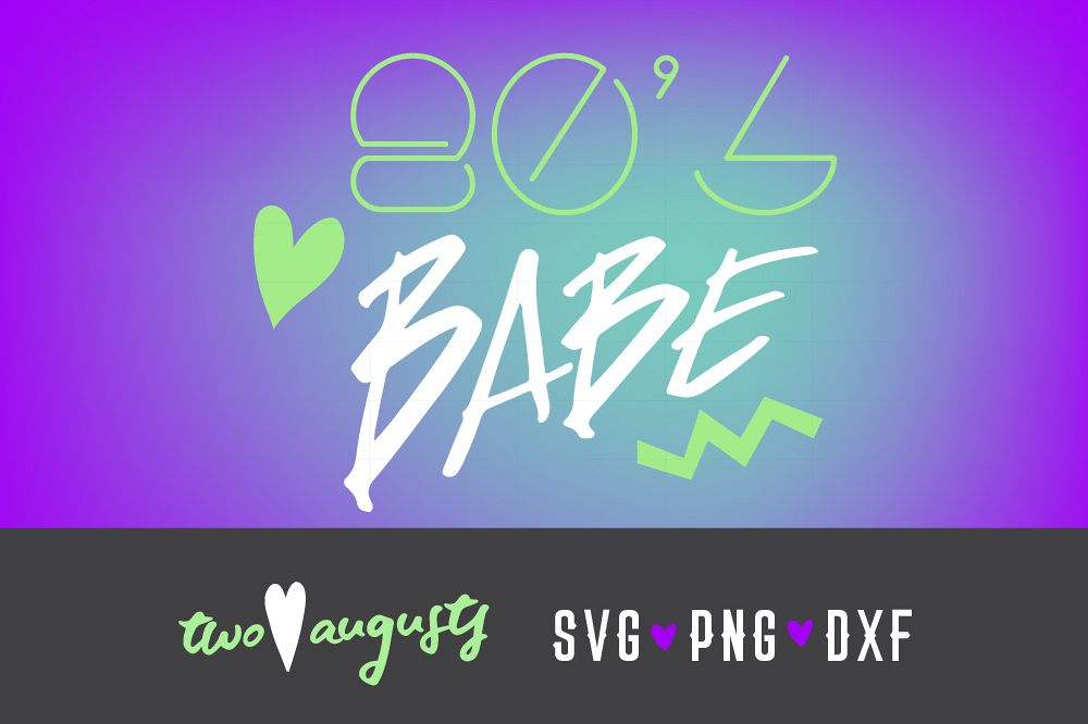 80s babe, Vibes, eighties, 80s, neon, theme, SVG, PNG, girl