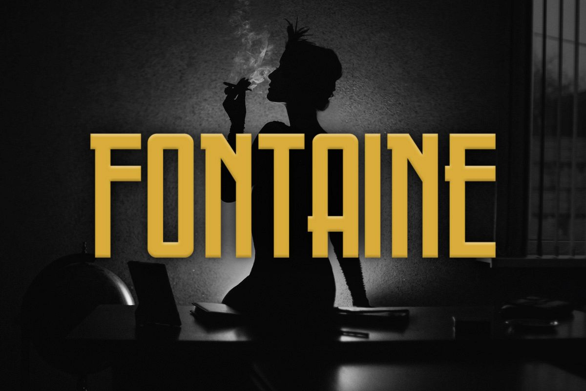 Fontaine Typeface example image 1