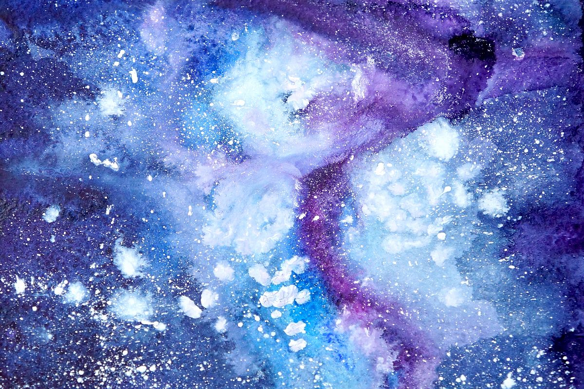 Magic watercolor textures example image 1