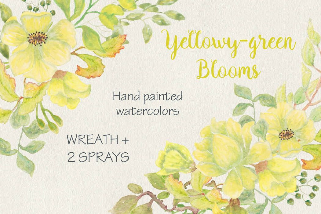 Watercolor wreath of exotic flowers example image 1