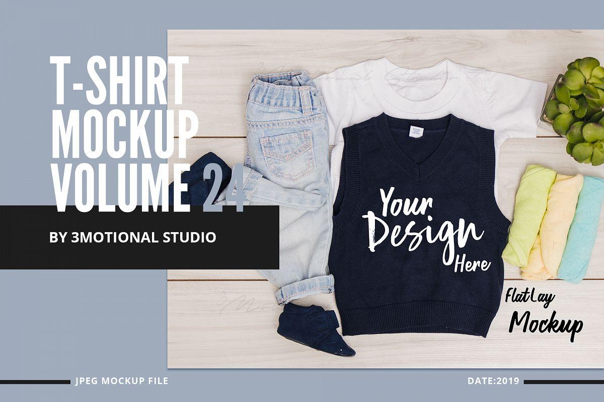 Neo T-Shirt Mockup Volume 24 example image 1
