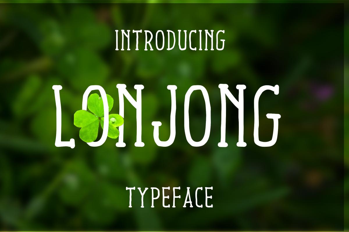 Lonjong Font example image 1