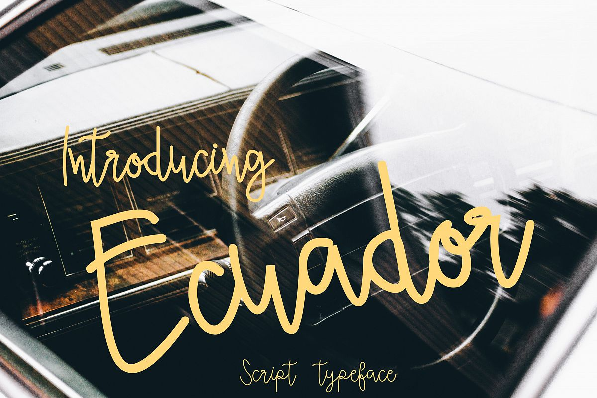 Ecuador (Bonus vector) example image 1