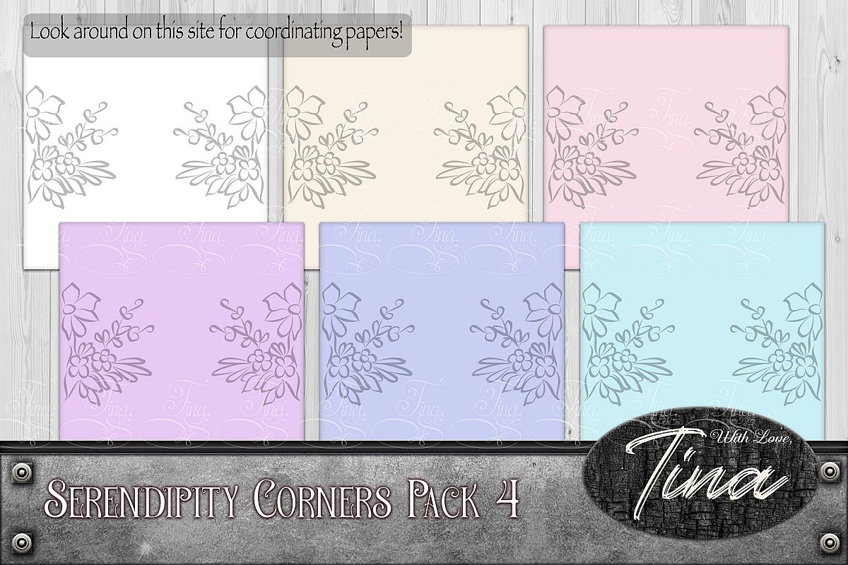 Floral Scrollwork Ironwork Scrolls Cards Wedding 092918IF4a example image 1
