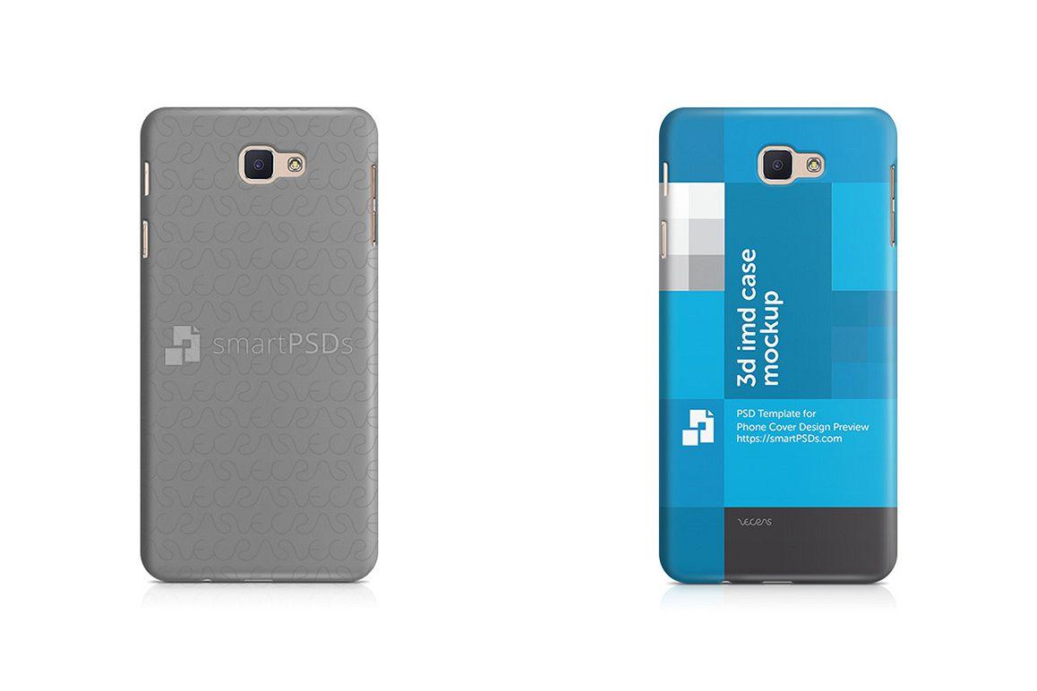 Samsung Galaxy J7 Prime 3d IMD Mobile Case Mockup 2016 example image 1