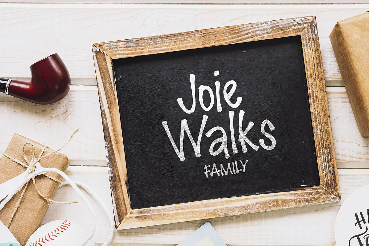 Joie Walks Family example image 1