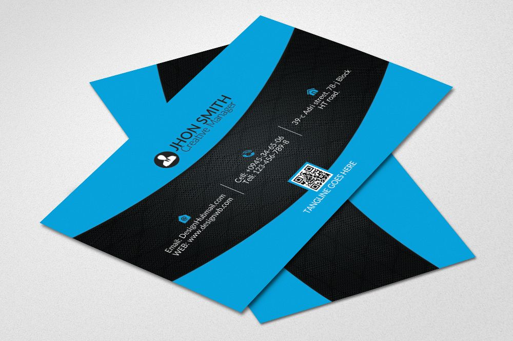 Fabulous Business Card Design example image 1