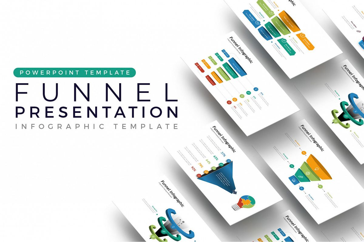 Funnel Presentation - Infographic Template example image 1