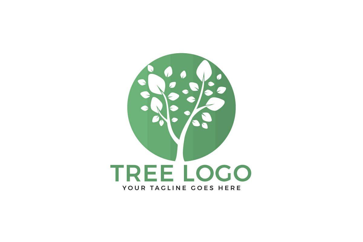 Tree vector logo design. example image 1