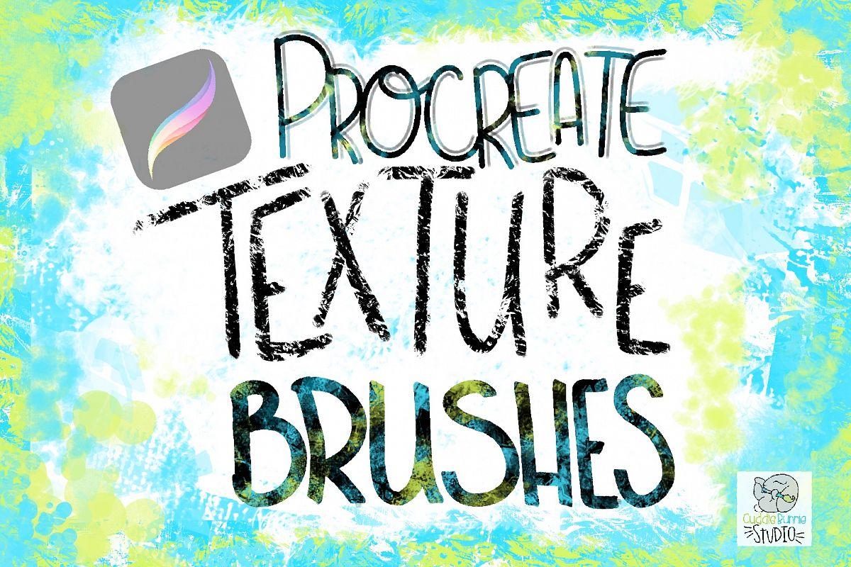 Procreate Fun Texture Brushes example image 1