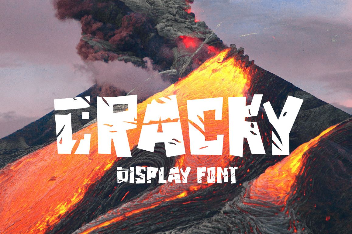Cracky Display Font example image 1