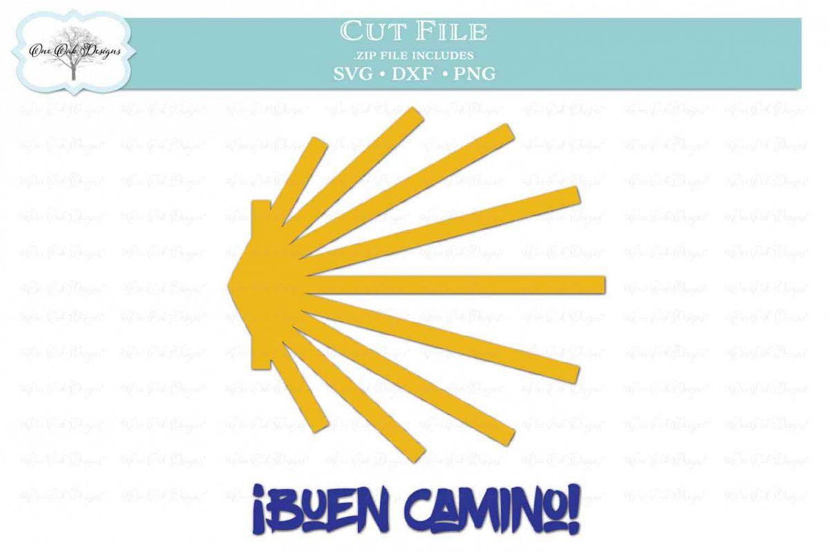 Buen Camino Scallop Shell - Camino de Santiago example image 1