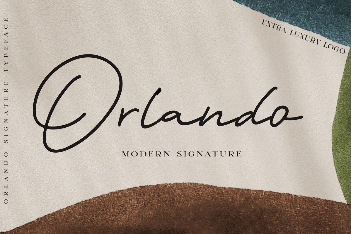 Orlando Signature Extra Logo example image 1