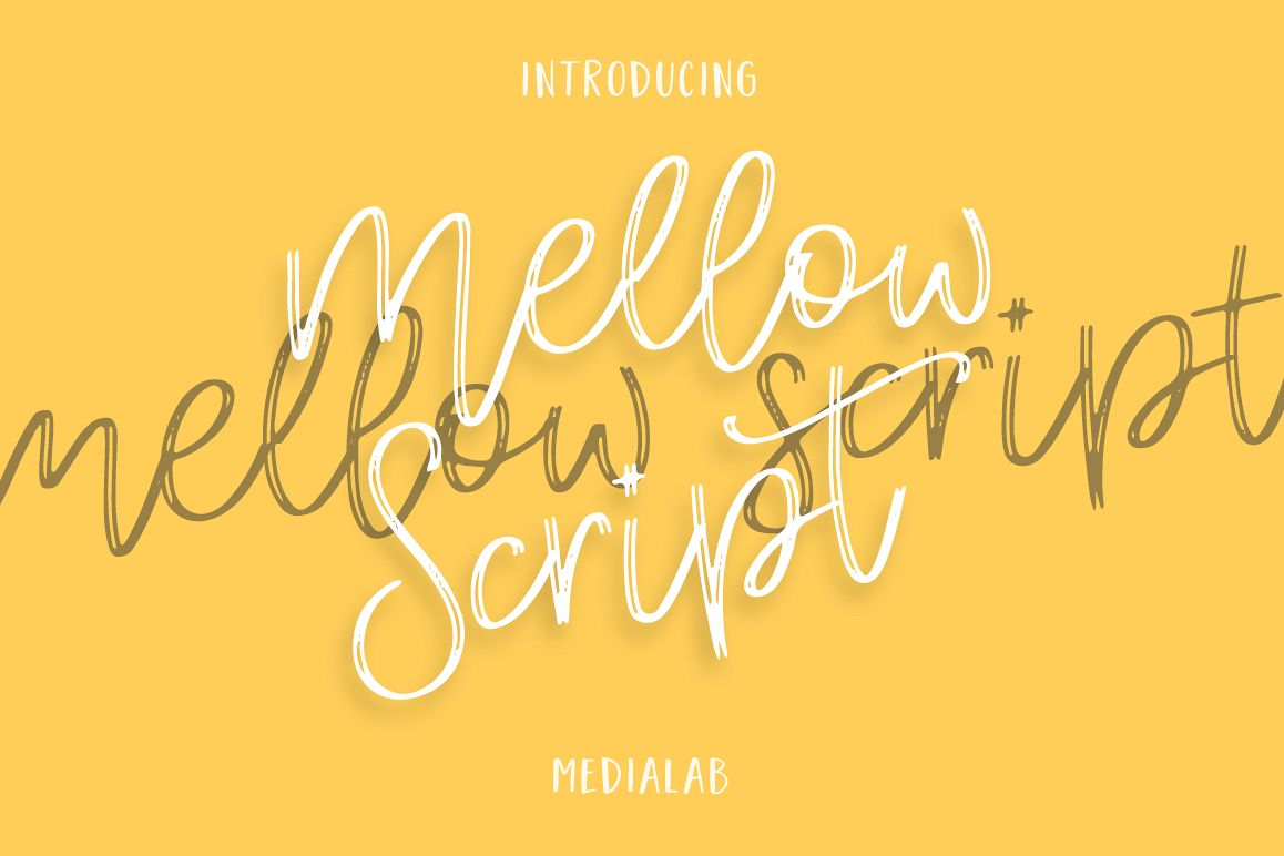 Mellow Script example image 1