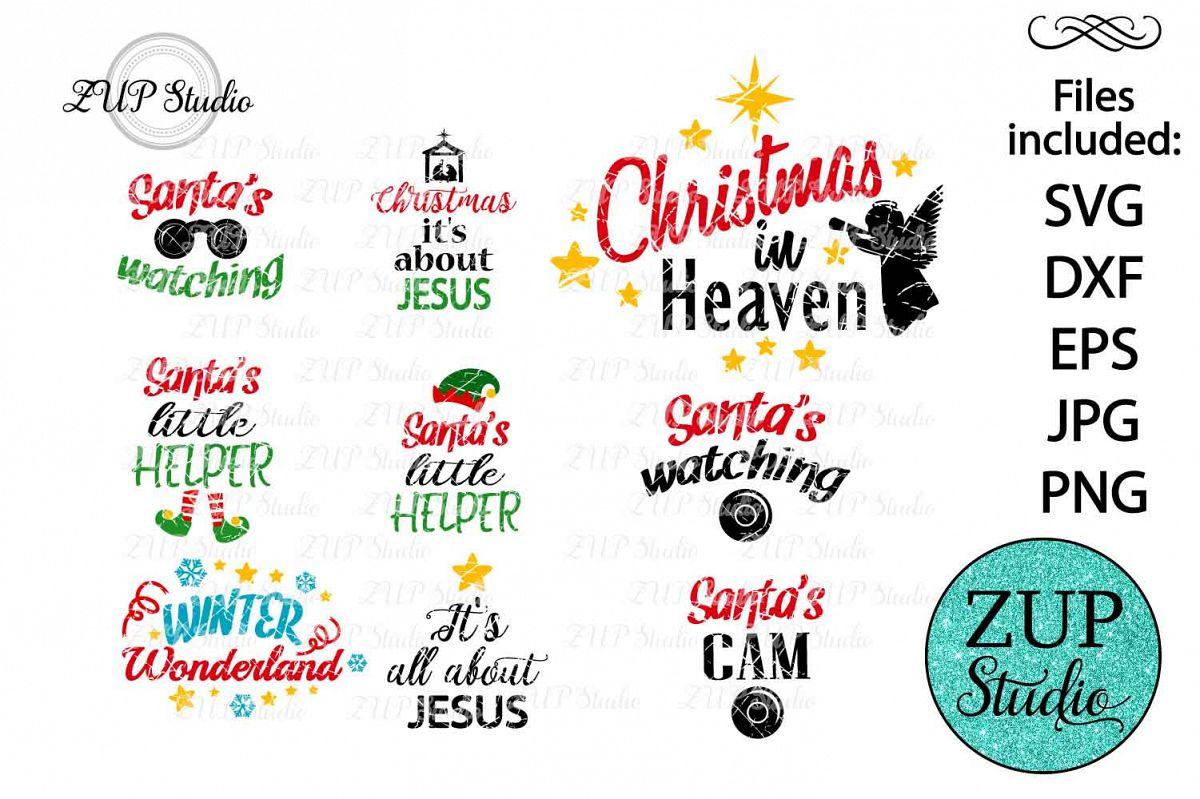Christmas Sayings.Grunge Christmas Sayings Digital Cutting File 210