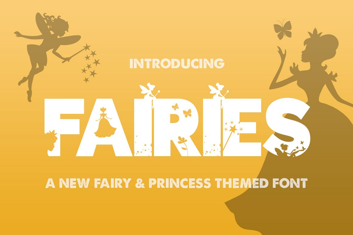 The Fairies Font example image 1