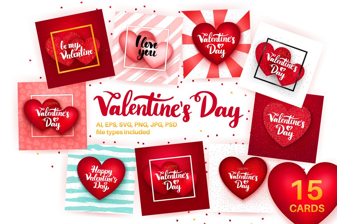 Valentines Day Greeting Cards