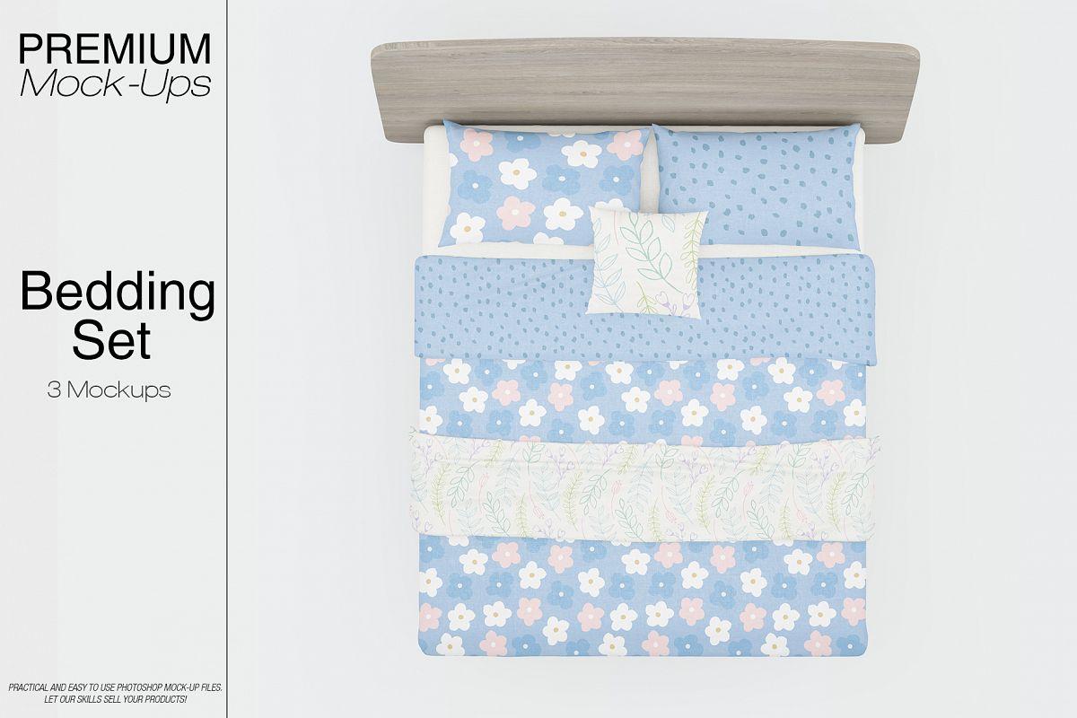 Bedding Mockup Set example image 1