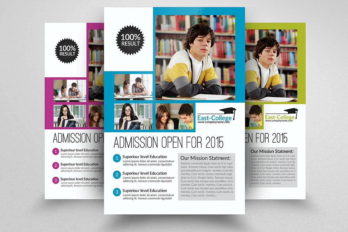 Senoir Education Flyer Template example image 1