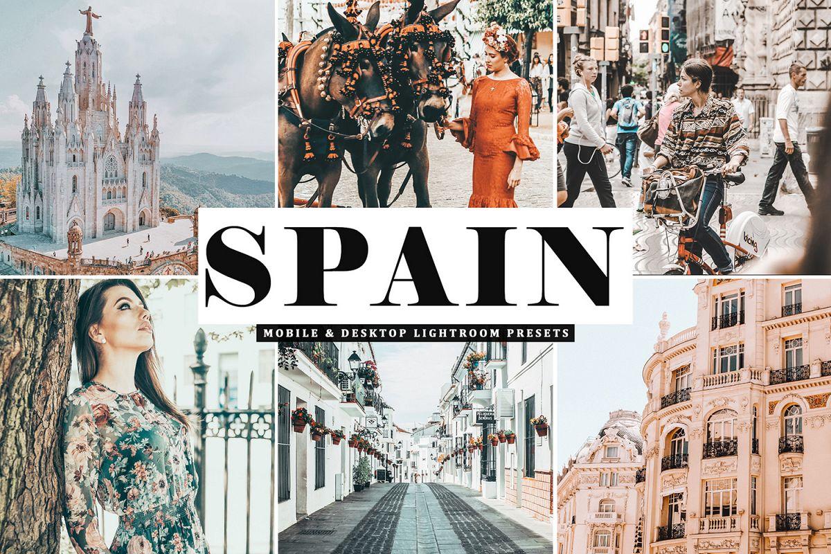 Spain Mobile & Desktop Lightroom Presets example image 1