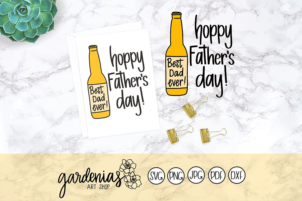Hoppy Father's Day / Happy Father's Day example image 1