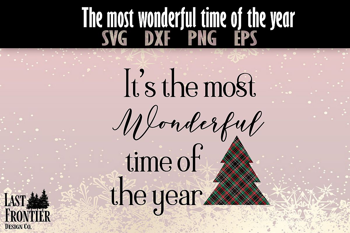 Wonderful Time of the Year example image 1
