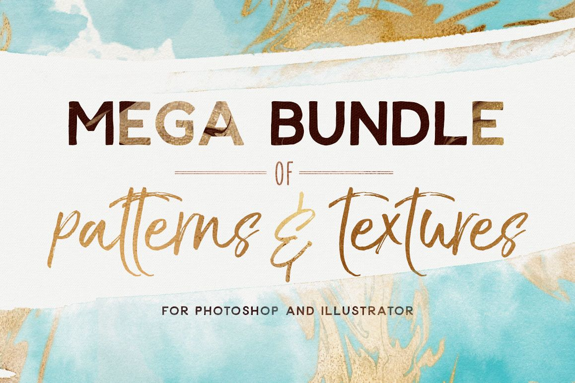 Mega Bundle Patterns and Textures example image 1