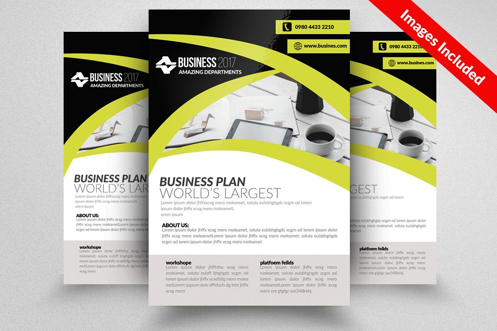 Architectural Firm Flyer Template example image 1