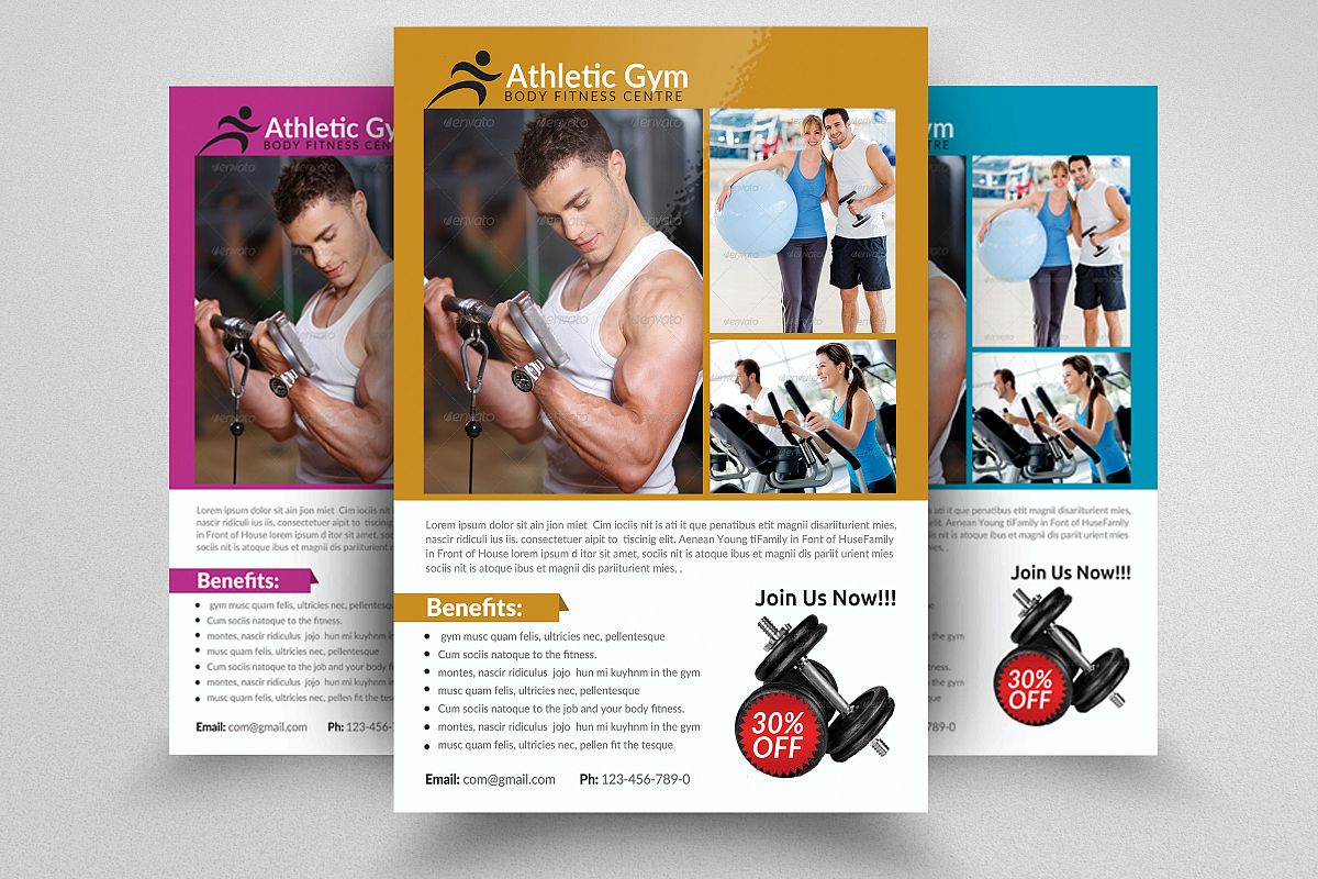 Body Fitness Coaching Flyer example image 1