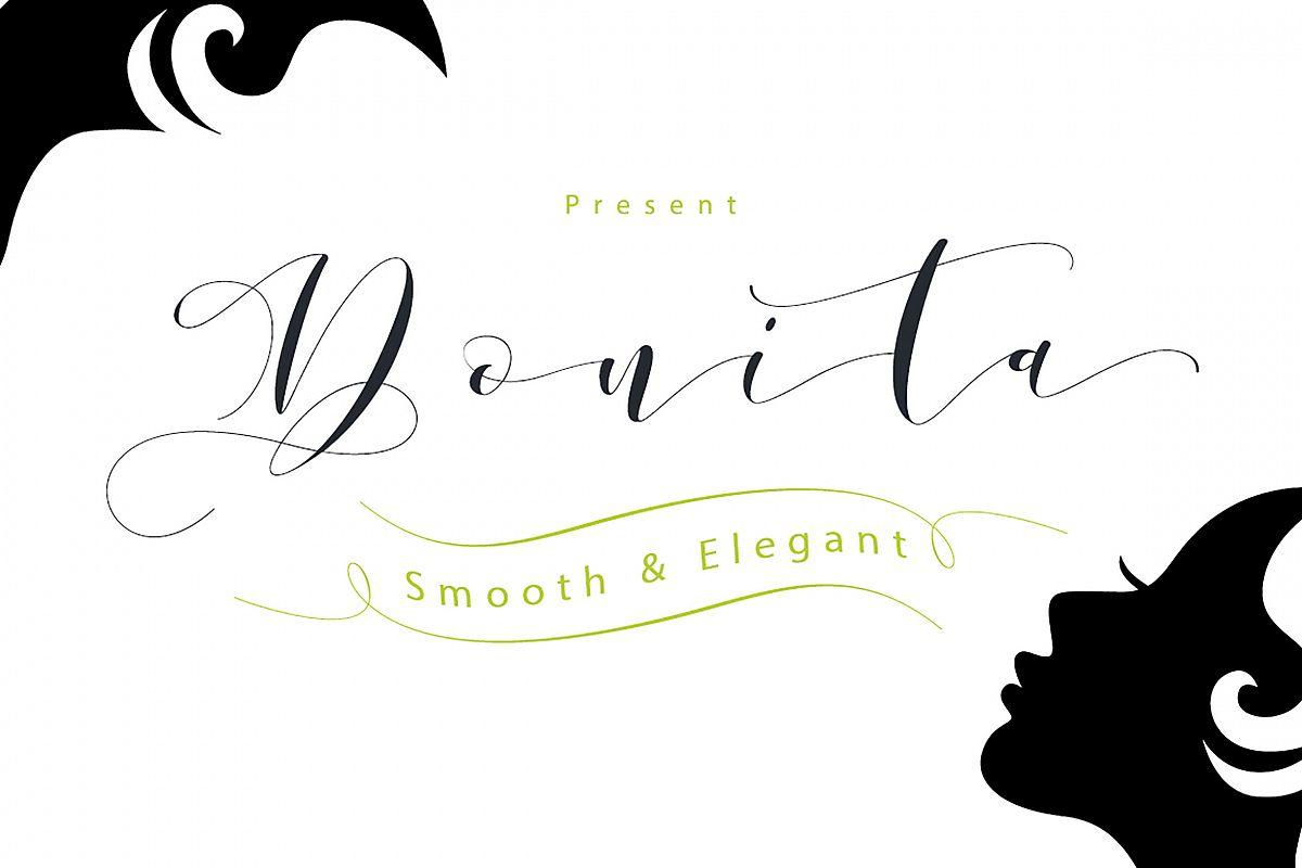 Donita Handscript example image 1