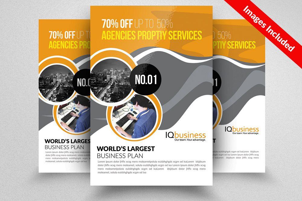 corporate event planner caterer flyer design bundles