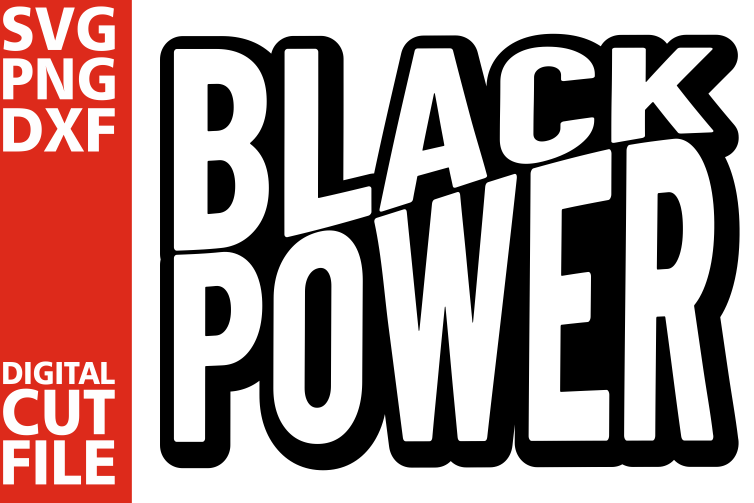 Black Power outline svg, Black woman svg, Melanin, Afro girl example image 1