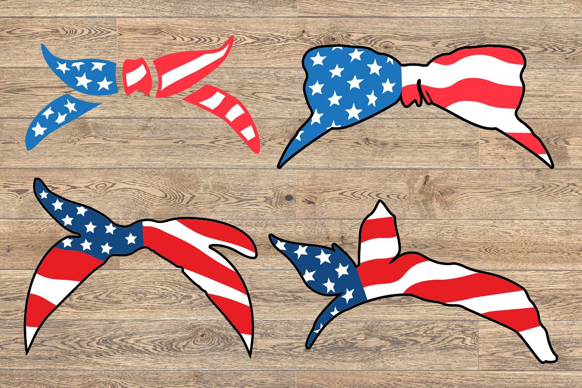 Bandana mask United States Flag 4th July 1368S example image 1