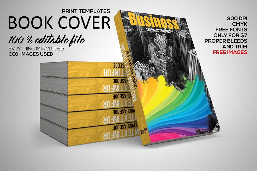 Business Book Cover example image 1