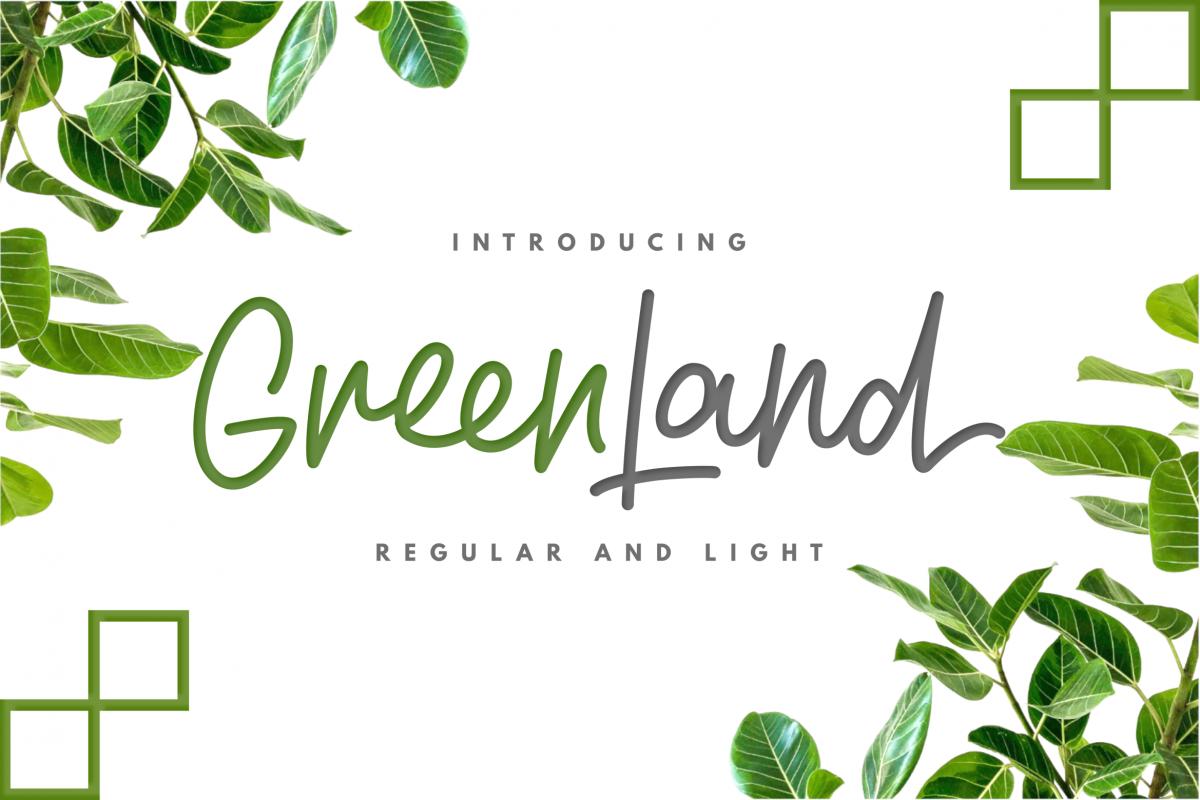 Greenland - Script Duo example image 1